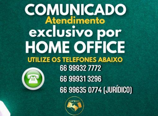 Sipros segue funcionando por home office, clube funciona com 30% da capacidade