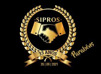 Sipros completa 33 anos de luta