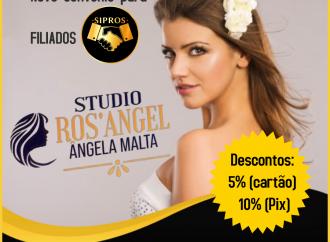 Salão Stúdio Ros'Angel é o mais novo parceiro do Sipros